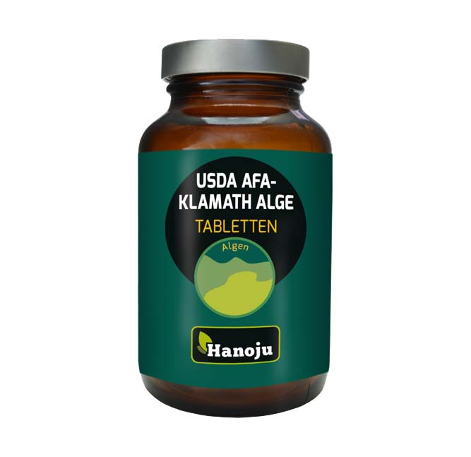Кламатски водорасли АФА (USDA), 120 таблетки, 250 мг.